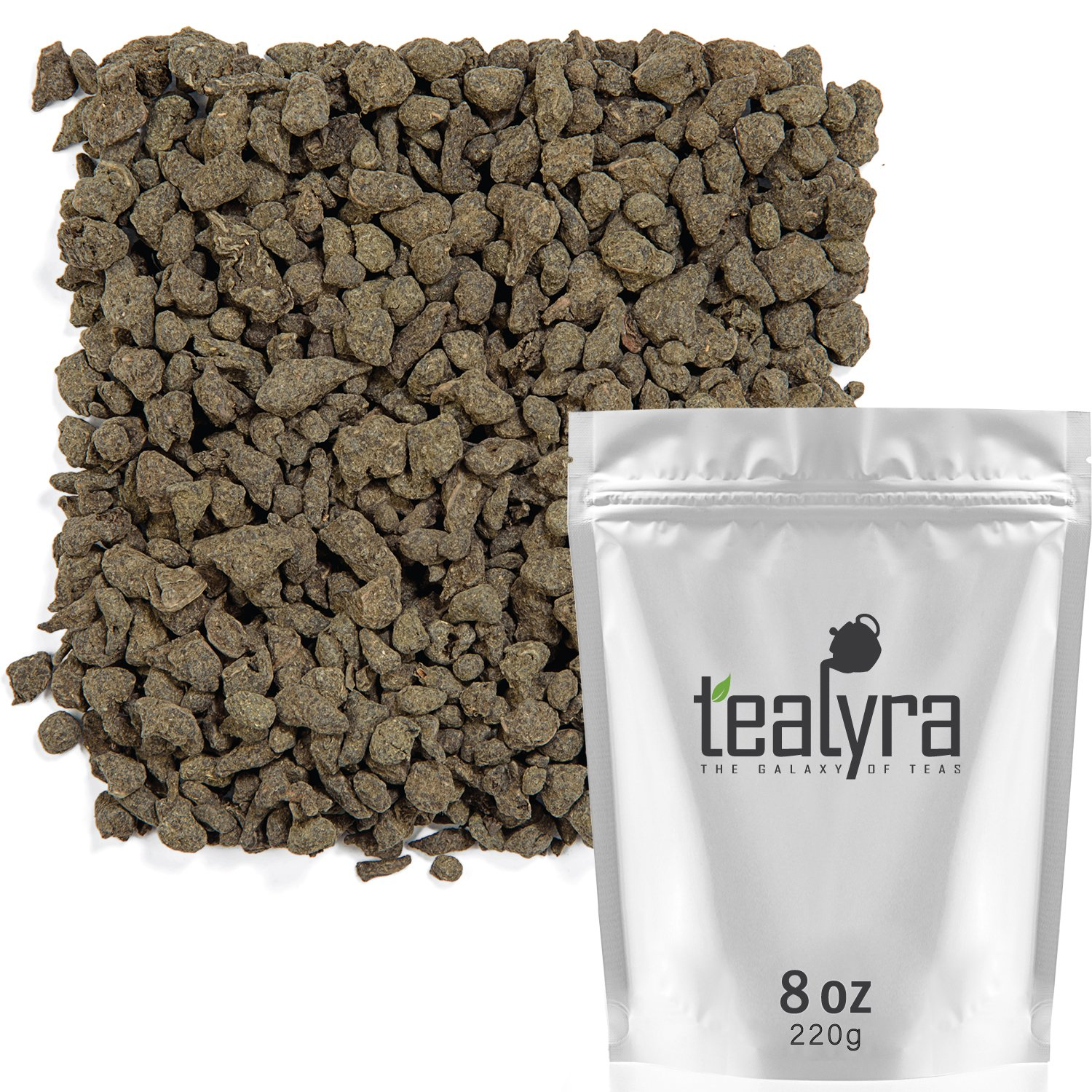Tealyra - Imperial Ginseng Ren Shen - Oolong Loose Leaf Tea - Best Ginseng Tea - Energy Boost - Healthy Drink - Naturally Processed - 220g (8-ounce) by Tealyra