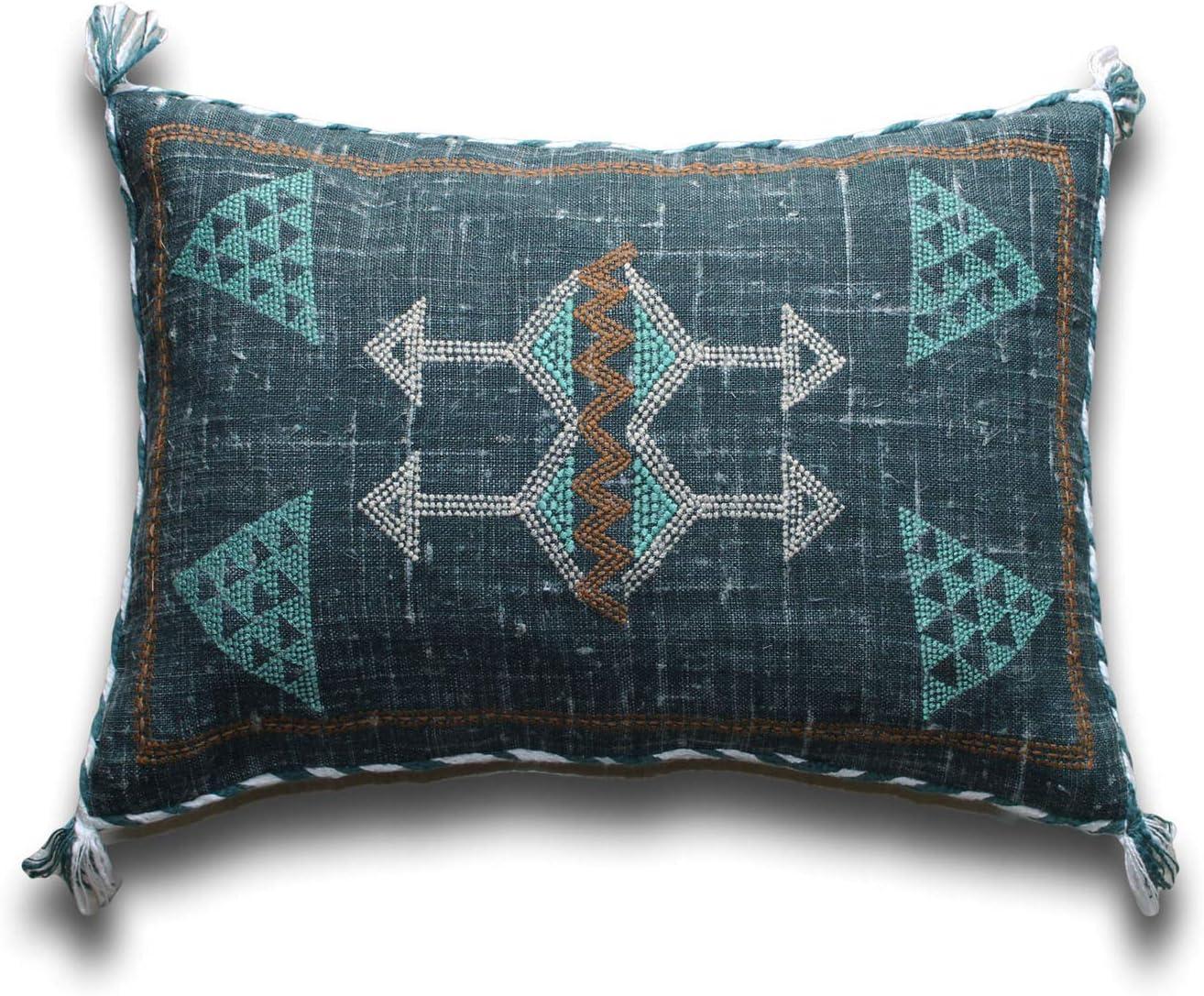 Handmade Moroccan Sabra Cactus silk Pillows