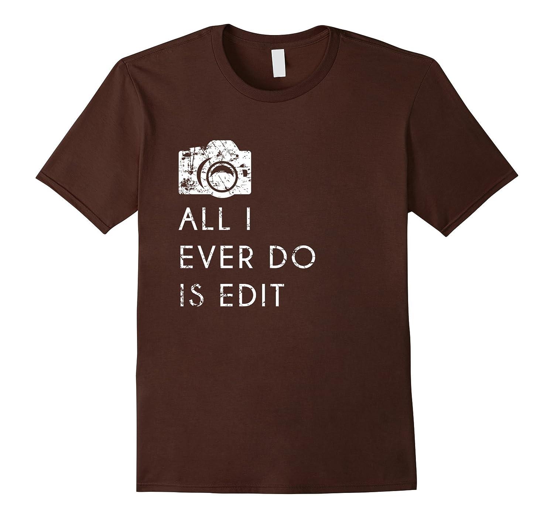 Mens Shirt Funny Photographer Asphalt-Teeae