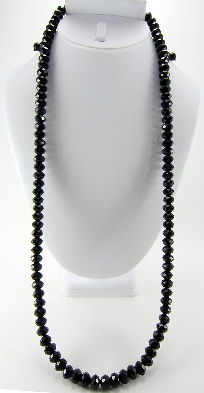 Amazon Rick Ross 24 Inch All Black Diamond Cut Crystal Necklace Bracelets Jewelry