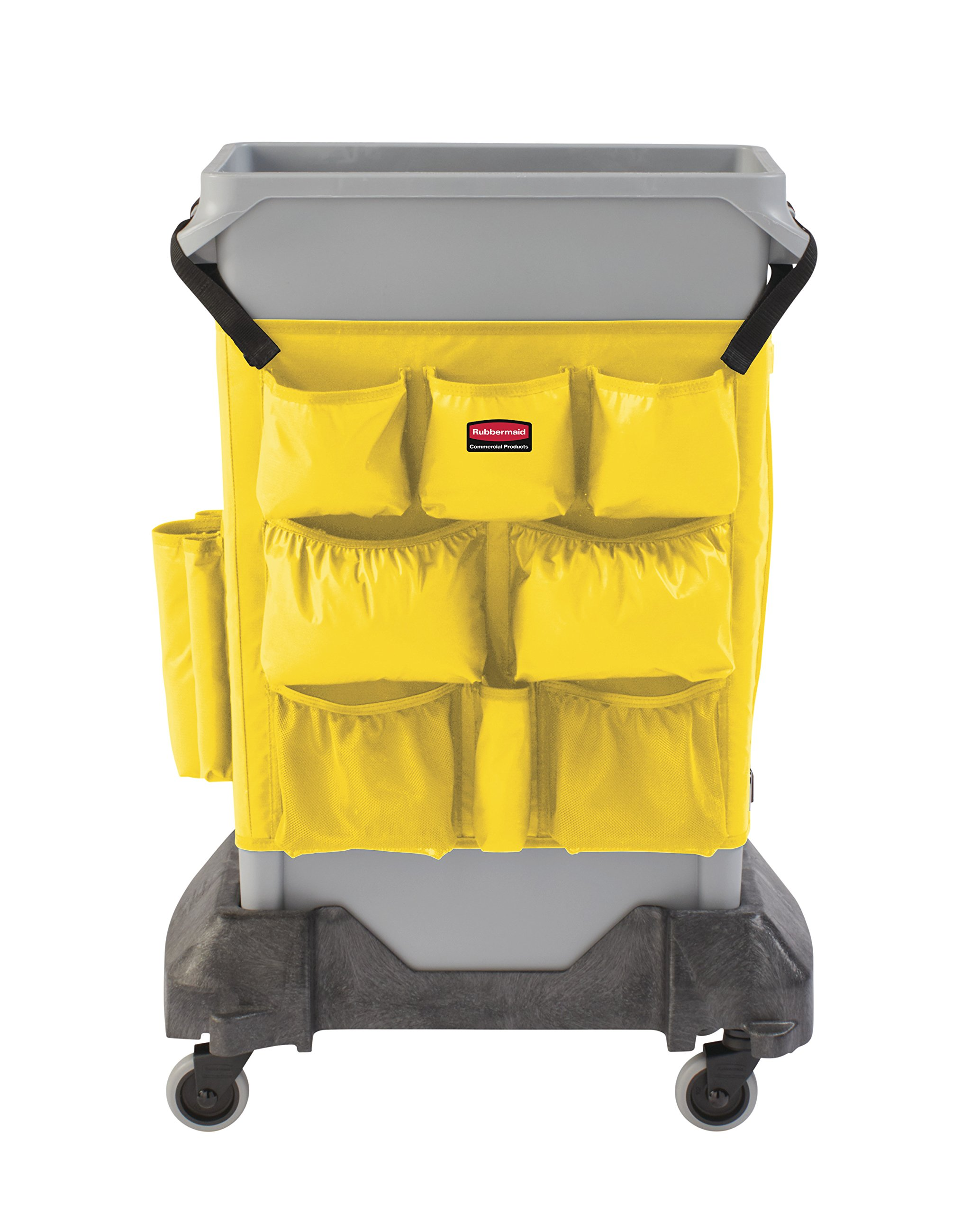 Rubbermaid Commercial Products 2032951 Slim Jim Caddy Bag for 23 gal, Yellow by Rubbermaid Commercial Products (Image #4)
