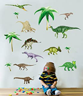 Dinosaurs   Boys   Kids   Nursery   Bedroom   Wall Stickers 50 X 70cm