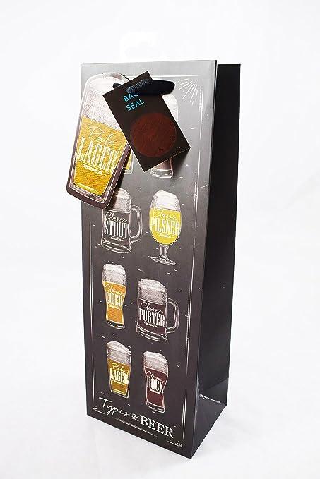 Tipos de cerveza botella bolsa de regalo para hombres de día ...