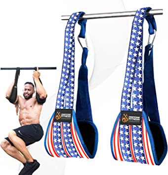 Fitness Hanging Ab Straps Strength Training Accessories Adjustable Arm Support