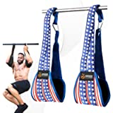 DMoose Fitness Hanging Ab Straps for Abdominal Muscle Building and Core Strength Training, Arm Support for Ab Workouts…