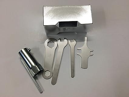Kit Caja Caja Porta Herramientas agujas cromado + Herramientas ...