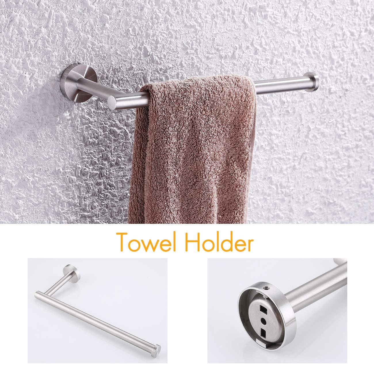 Amazon.com: KES LA20-PP - Juego de accesorios para baño (4 ...