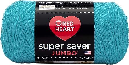 Red Heart E300PK.0512 Super Saver 3-Pack Yarn Turqua
