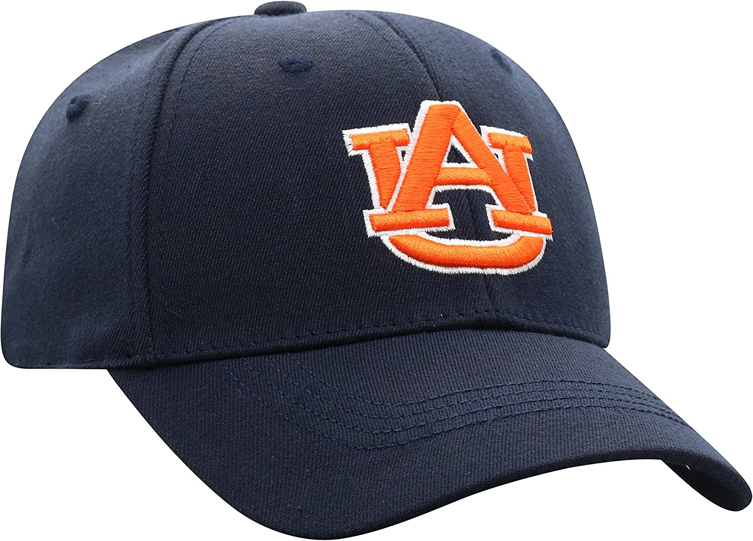 Top of the World NCAA Mens Premium Collection One-Fit Memory Fit Hat White Icon