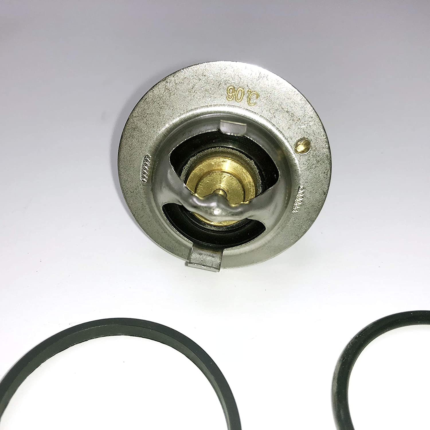 ZM Engine Coolant Thermostat w//Seal O Ring For Mercedes Benz W203 C230 2003-2005