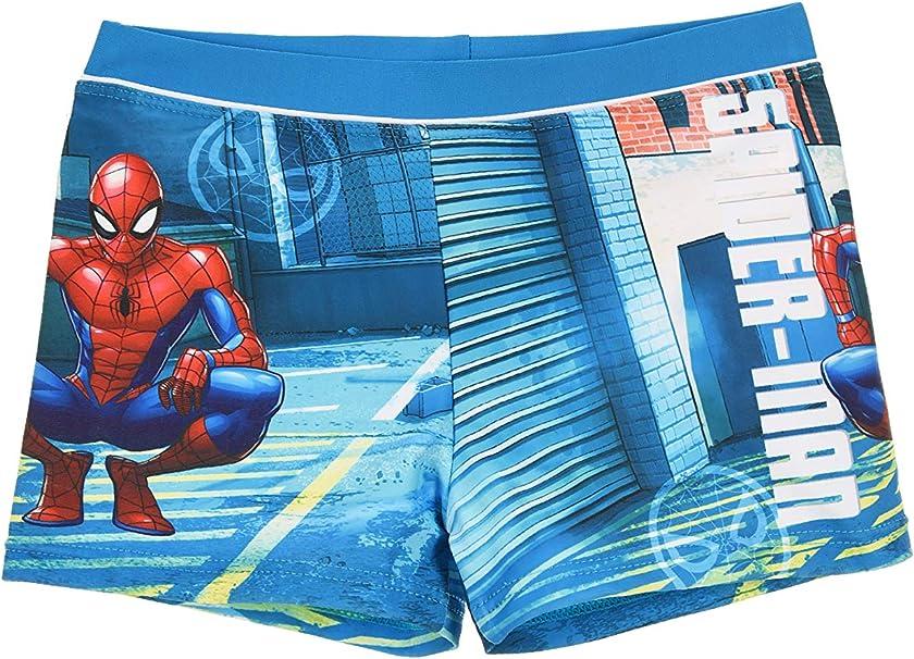 Boys swimming shorts Marvel Spiderman character long surf shorts