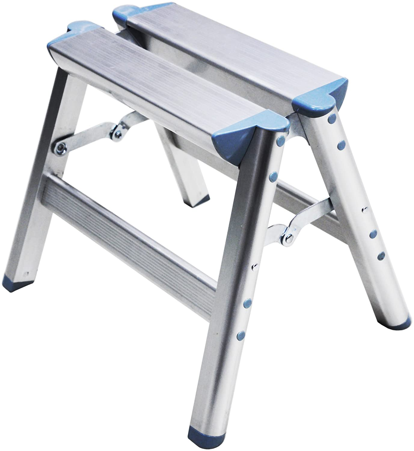 Telesteps 100SS OSHA Compliant 12 inch Aluminum Folding Step Stool - - Amazon.com  sc 1 st  Amazon.com : folding one step stool - islam-shia.org