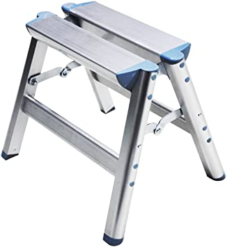 Telesteps 100SS OSHA Compliant 12 inch Aluminum Folding Step Stool  sc 1 st  Amazon.com & Telesteps 100SS OSHA Compliant 12 inch Aluminum Folding Step Stool ... islam-shia.org