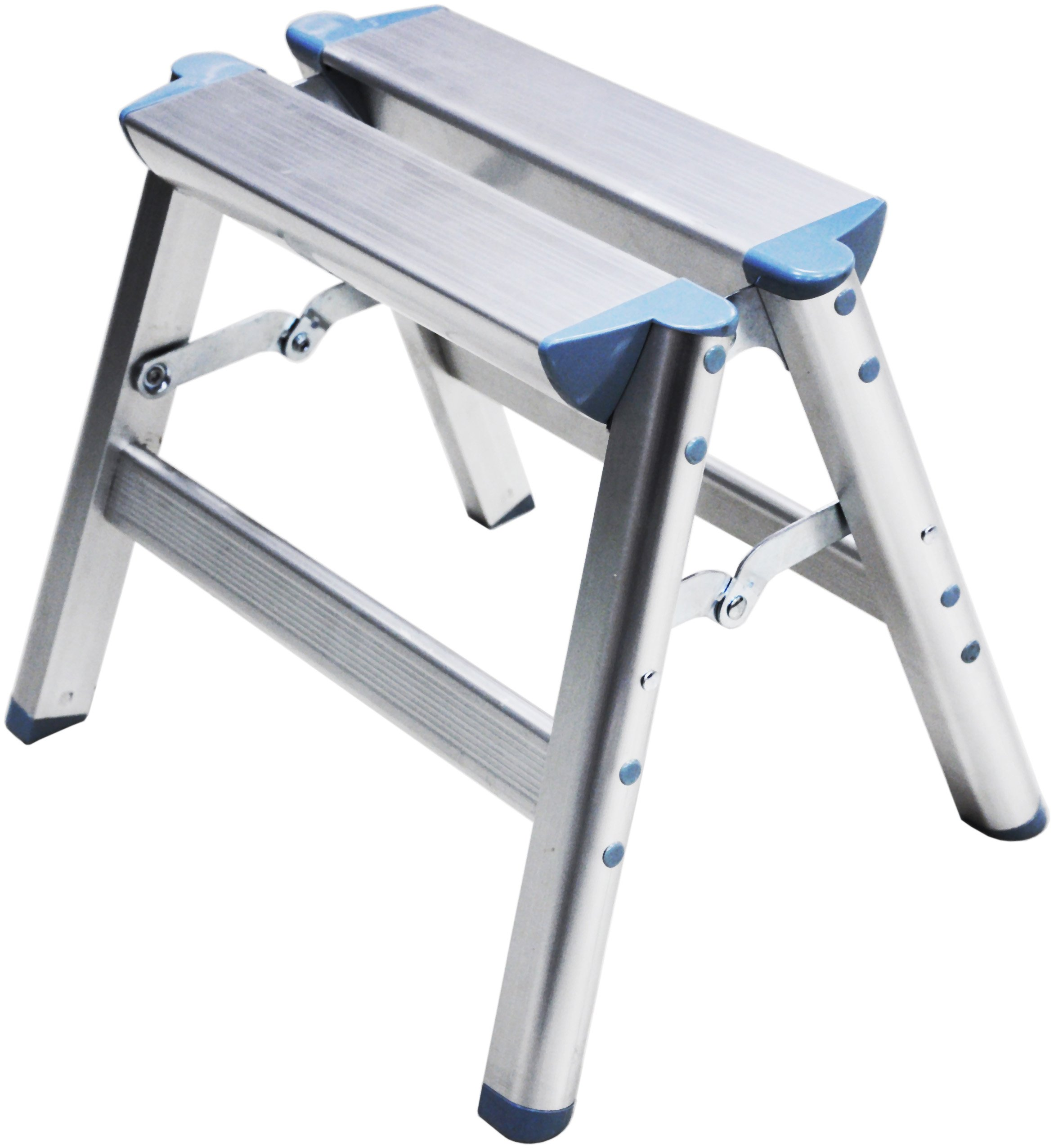 Telesteps 100SS OSHA Compliant 12 inch Aluminum Folding Step Stool by Telesteps (Image #1)