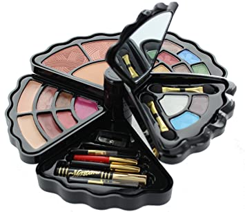 makeup set. br- makeup set - eyeshadows, blush, lip gloss, mascara and more