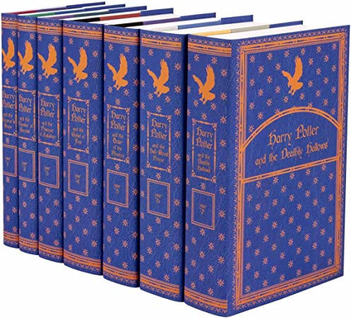 Juniper Books Harry Potter Ravenclaw House Boxed Set | Seven-Volume Hardcover Book Set with Custom Designed Dust Jackets | Author J.K. Rowling
