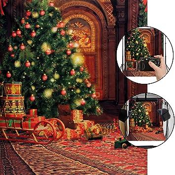 Hintergrund Weihnachten.Camtoa Weihnachts Fotohintergrund 5x7ft Weihnachten