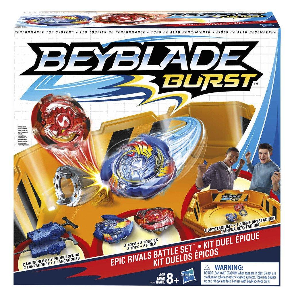 Beyblade B9498EU6 Burst Epic Rivals Battle Game Set
