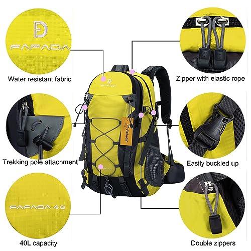 81izCHt7YAL. SL500  Fafada 40L, zaino da escursionismo o da campeggio impermeabile