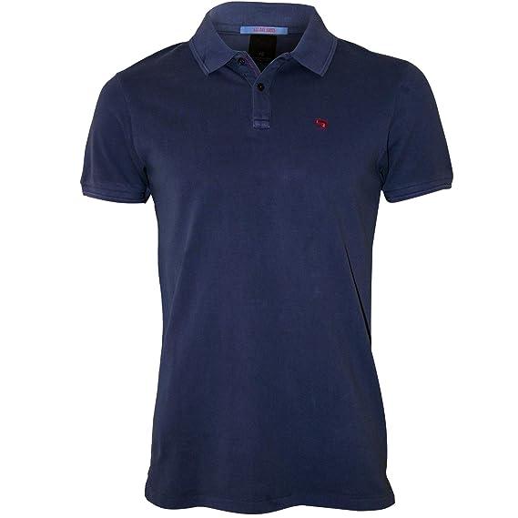 Fabrik online frische Stile Scotch & Soda Classic Pique Men's Polo Shirt, Azul Blue XX ...