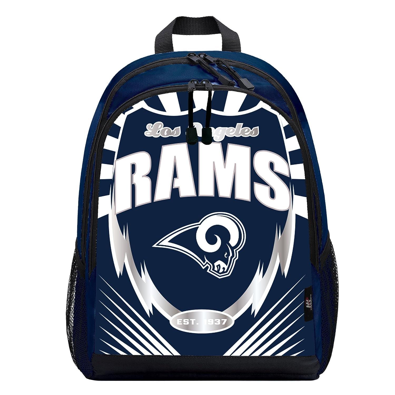 The Northwest会社Officially Licensed NFL Oakland Raiders Lightning Kidsスポーツバックパック、ブラック B07DGSJ1MD   Los Angeles Rams