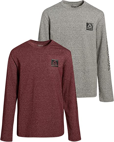 Reebok Boys Long Sleeve Active T-Shirt