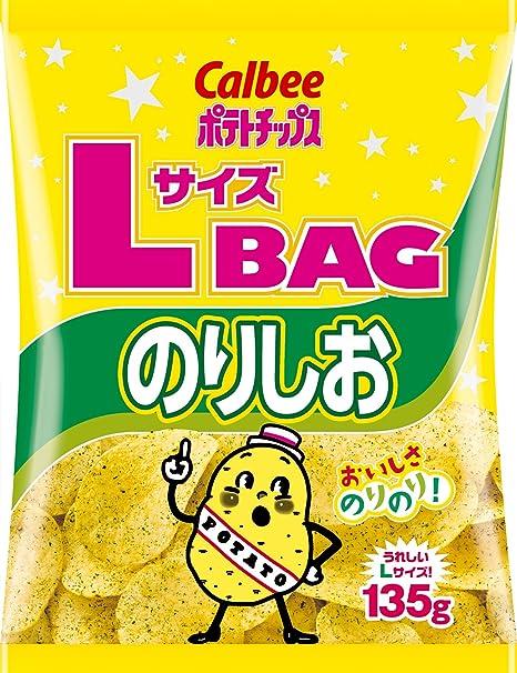Calbee tama?o de las patatas fritas L BOLSA Norishio 135g X ...