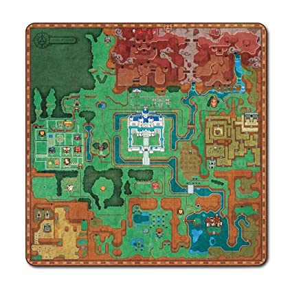 Amazon.com: The Legend Of Zelda: A Link Between Worlds Overworld Map ...