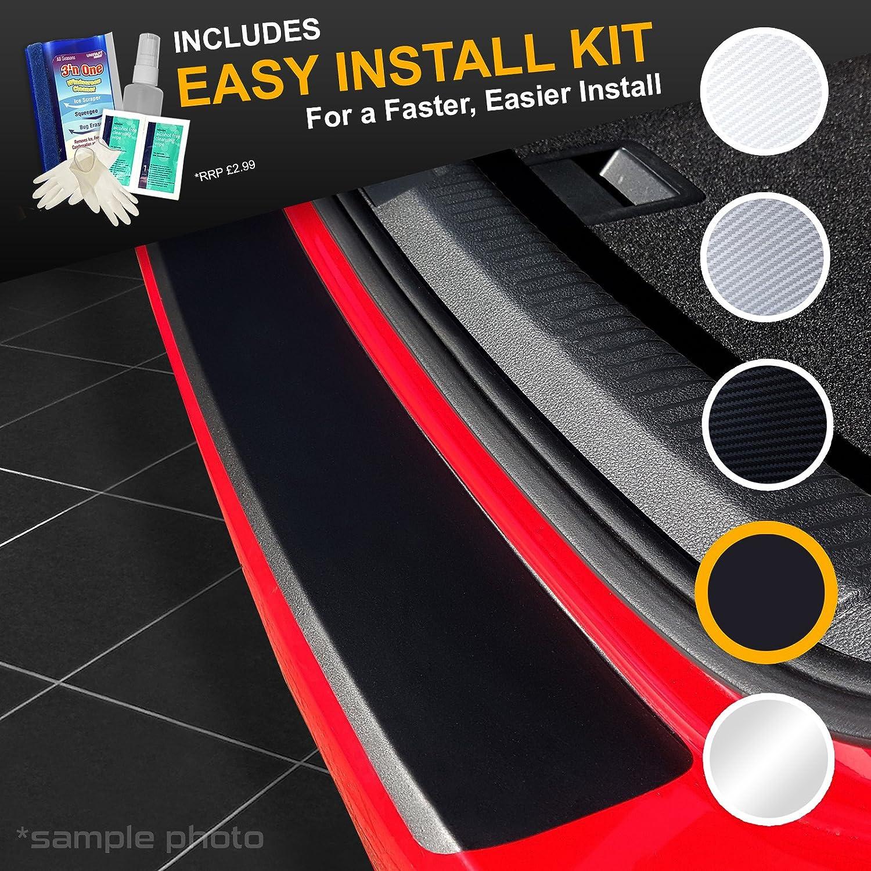 carmats4u Matt Black Vinyl Bumper Lip Protector//Self Adhesive