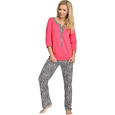 Be Mammy Femme Allaitement Ensemble de Pyjama 1N2TT2