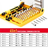45 in 1 Mini Screwdriver Set, VCOO Torx Bit Tools
