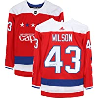 $297 » Tom Wilson Washington Capitals Autographed Red Alternate Adidas Authentic Jersey - Fanatics Authentic Certified