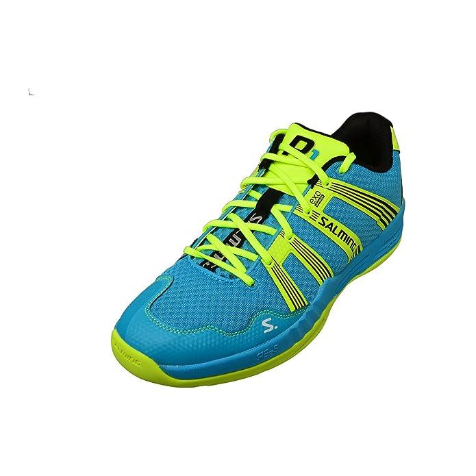 Salming Race R1 2.0 Mens Court Shoes, Color- Blue/Yellow, Size- 13 UK:  Amazon.co.uk: Shoes & Bags