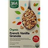 365 by Whole Foods Market, Organic Cereal, French Vanilla Granola, 17 Ounce