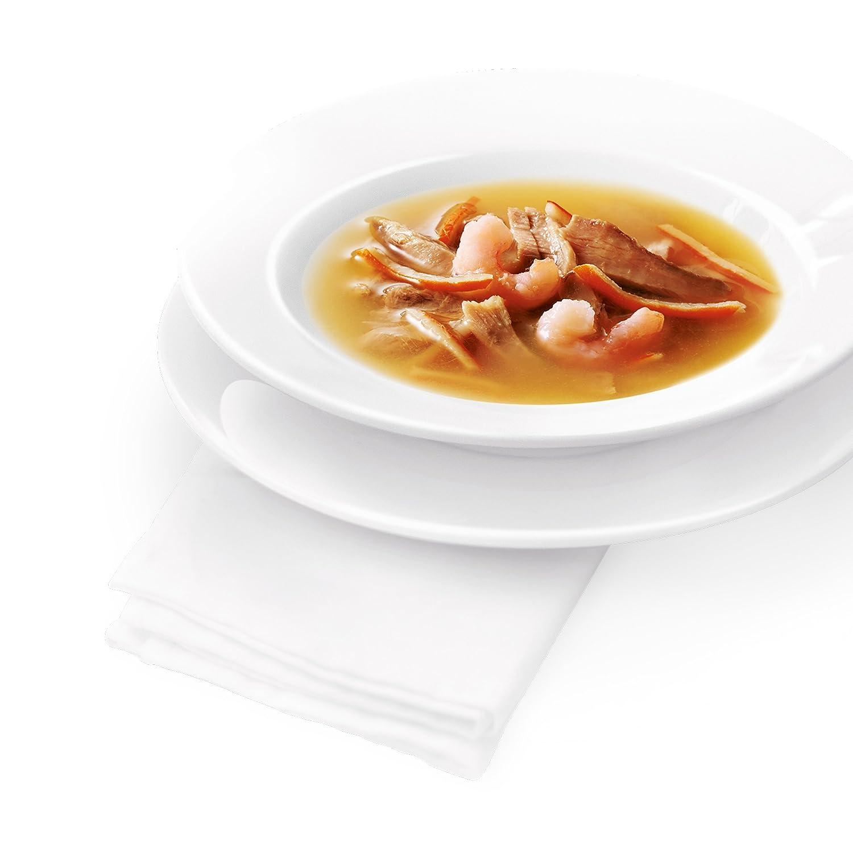 Guarnito con Gamberetti 32 Buste da 40 g Ciascuna Confezione da 32 x 40 g Purina Gourmet Crystal Soup Gatto Delicato Brodo con Tonno Naturale