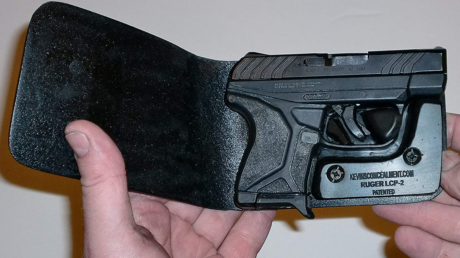 By Photo Congress || Ruger Lcp 2 With Laser Wallet Holster