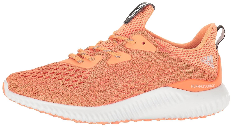 adidas Women's Alphabounce Em W Running Shoe B01LP56NA4 Orange 6.5 B(M) US|Easy Coral/Black/Easy Orange B01LP56NA4 cd4906