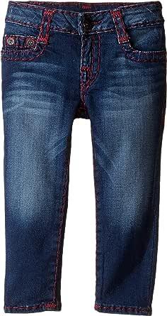 Amazon.com: True Religion Kids Girl's Casey Super T Jeans ...