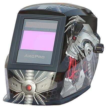 2c26d5654f ArcPro 20704 Auto-Darkening Solar Powered Welding Helmet with Grinding Mode