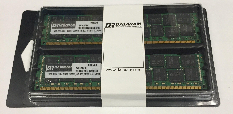 32GB (16GB X2) PC3-10600 Memoria para Dell PowerEdge R710