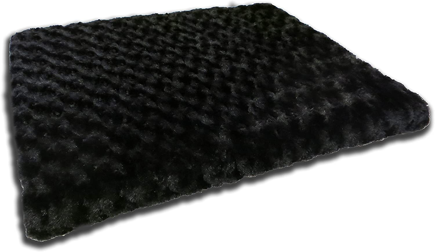 Beatrice Home Fashions TOBPTB23BLK Tobey Orthopedic Pet Bed