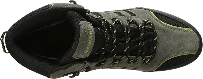 Wolverine Grayling Mid Waterproof Hiker Boot Grey//Lime W20451