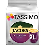 Tassimo Jacobs Caffè Crema Intenso XL, 5er Pack Kaffee T Discs (5 x 16 Getränke)