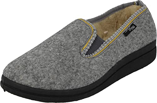 Womens Polar Memory Foam Faux Fur Fleece Rubber Sole Anti Slip Slippers UK 3-9
