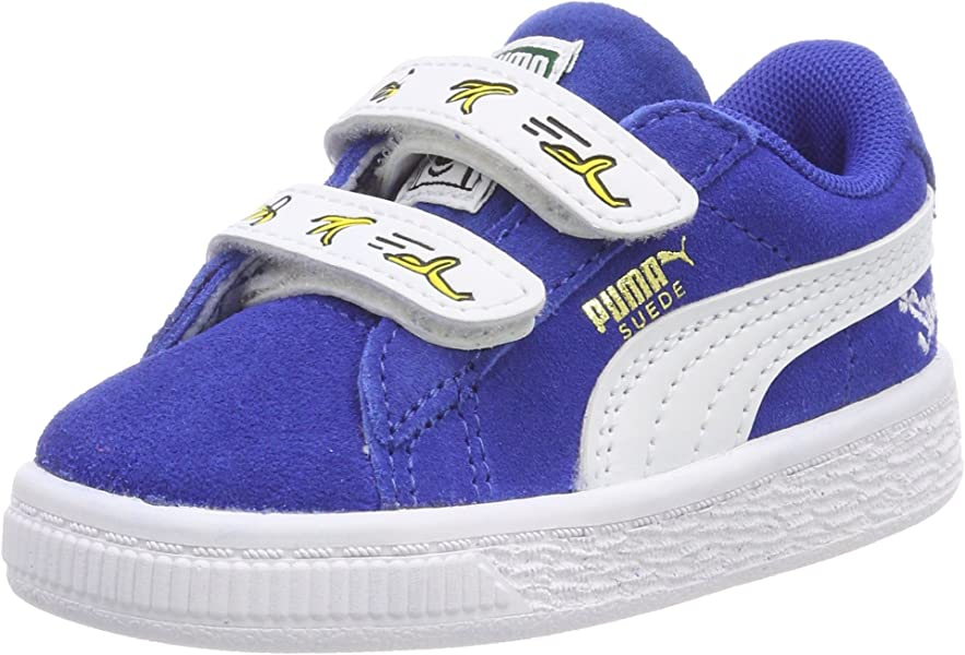 925085932b3 Unisex Kids  Minions Suede V Inf Trainers