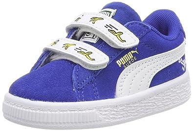 d7ffb8f870dc0c Puma Unisex-Kinder Minions Suede V Inf Sneaker  Amazon.de  Schuhe ...