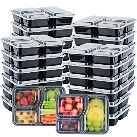 Amazon.com: galashield contenedores de comida [20 unidades ...