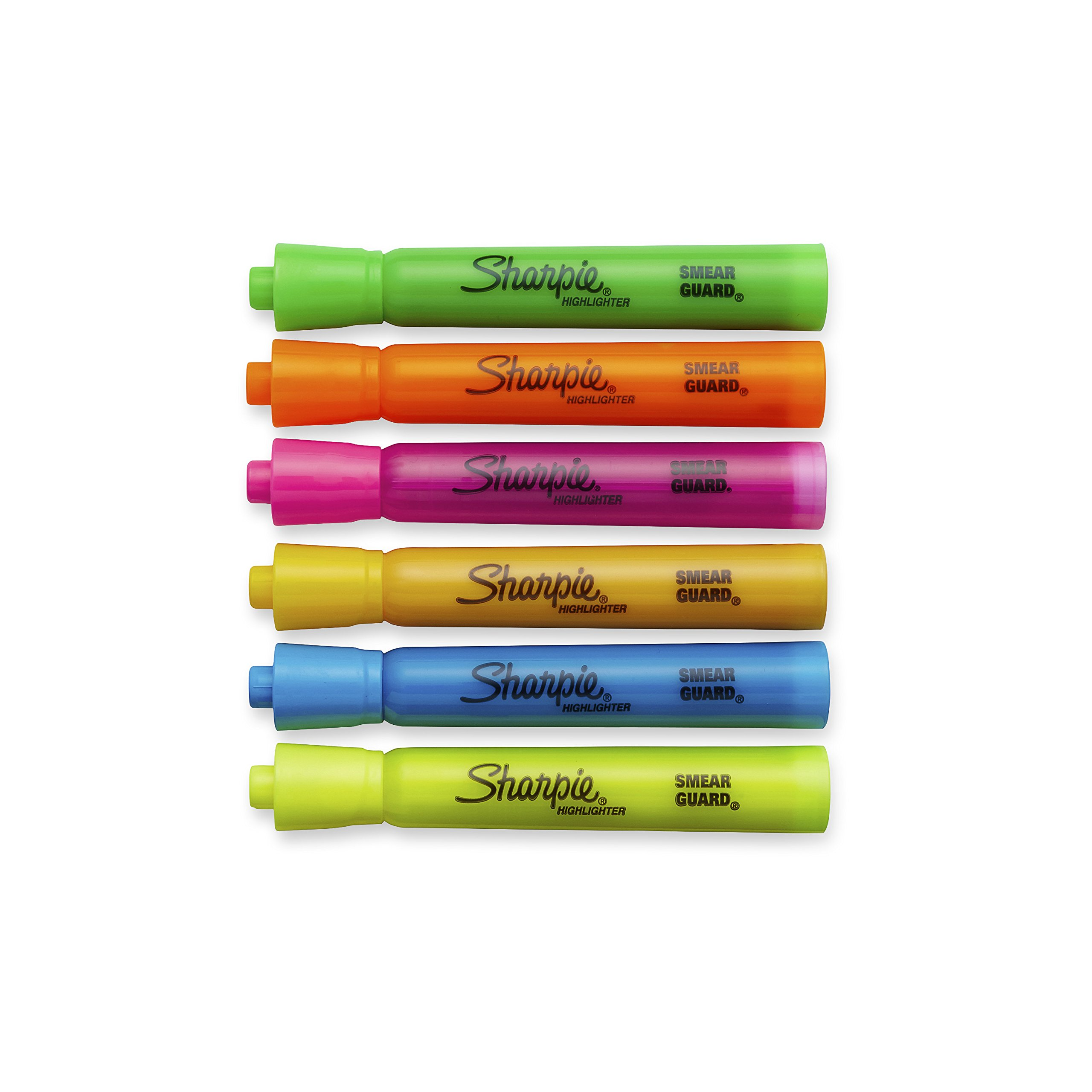 Sharpie Tank Style Highlighters, Chisel Tip, Assorted Colors, 12 Packs of 6 (72 Count) by Sharpie (Image #3)