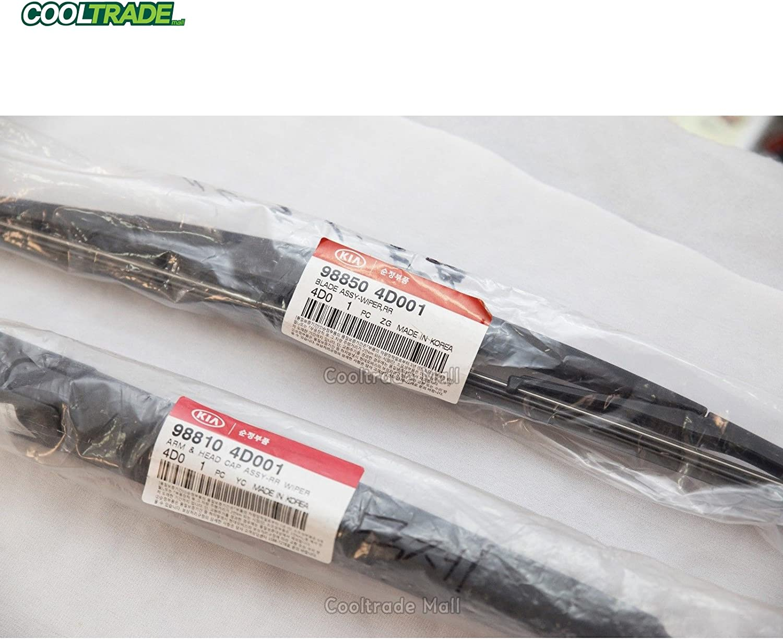 Blade 2pcs 1set for KIA Sedona Carnival 2006-2015 Genuine Rear Wiper Arm