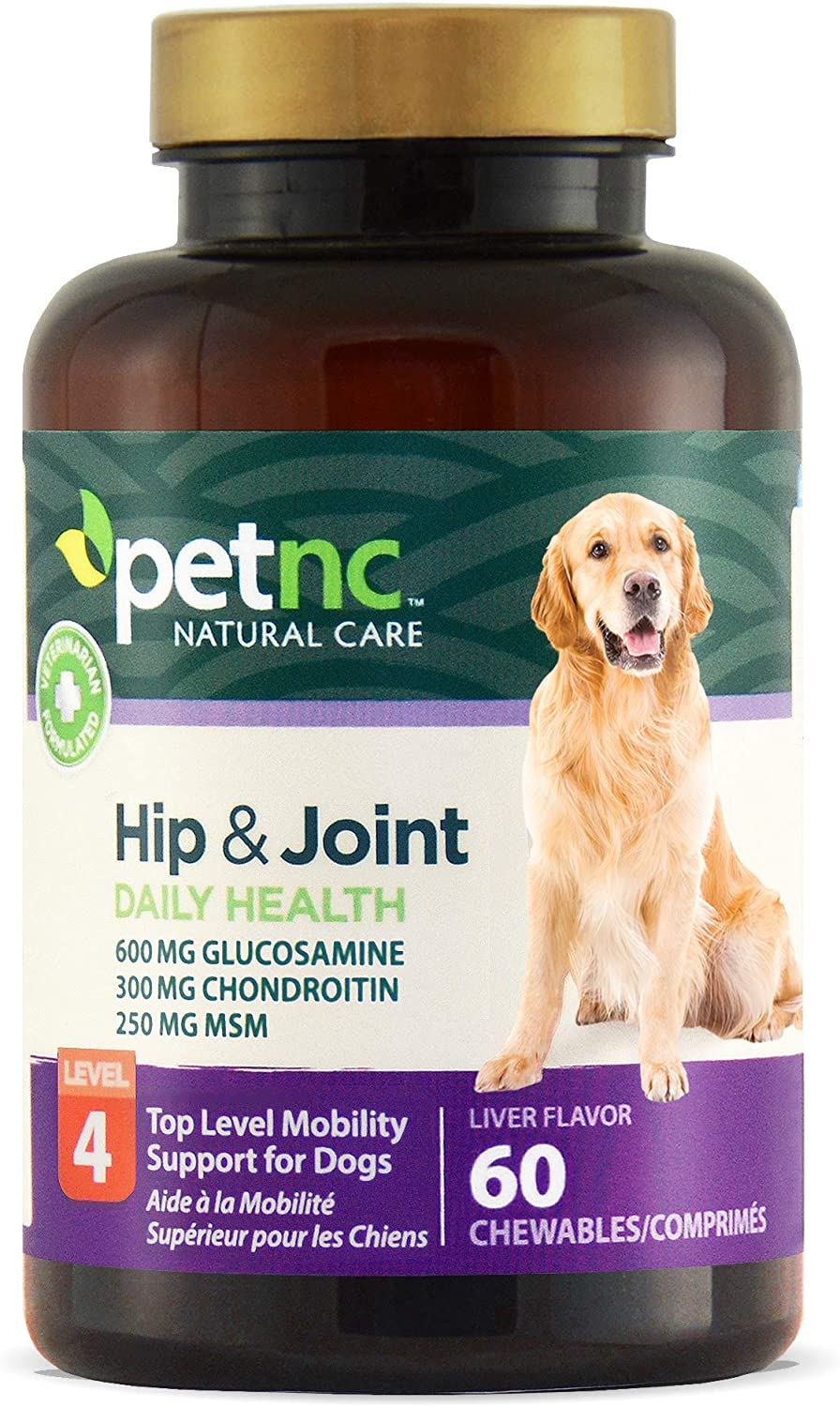 PetNC Natural Care Hip and Joint Health Advanced Chewables for Dogs